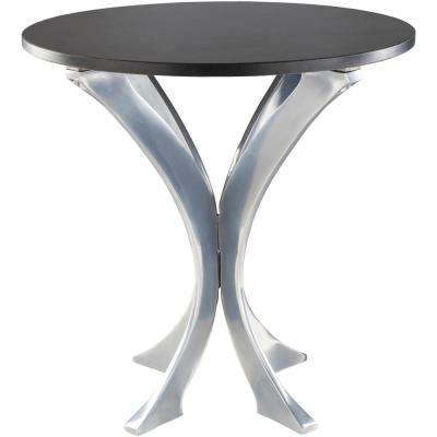 Aumu 18.5 in. Charcoal Side Table