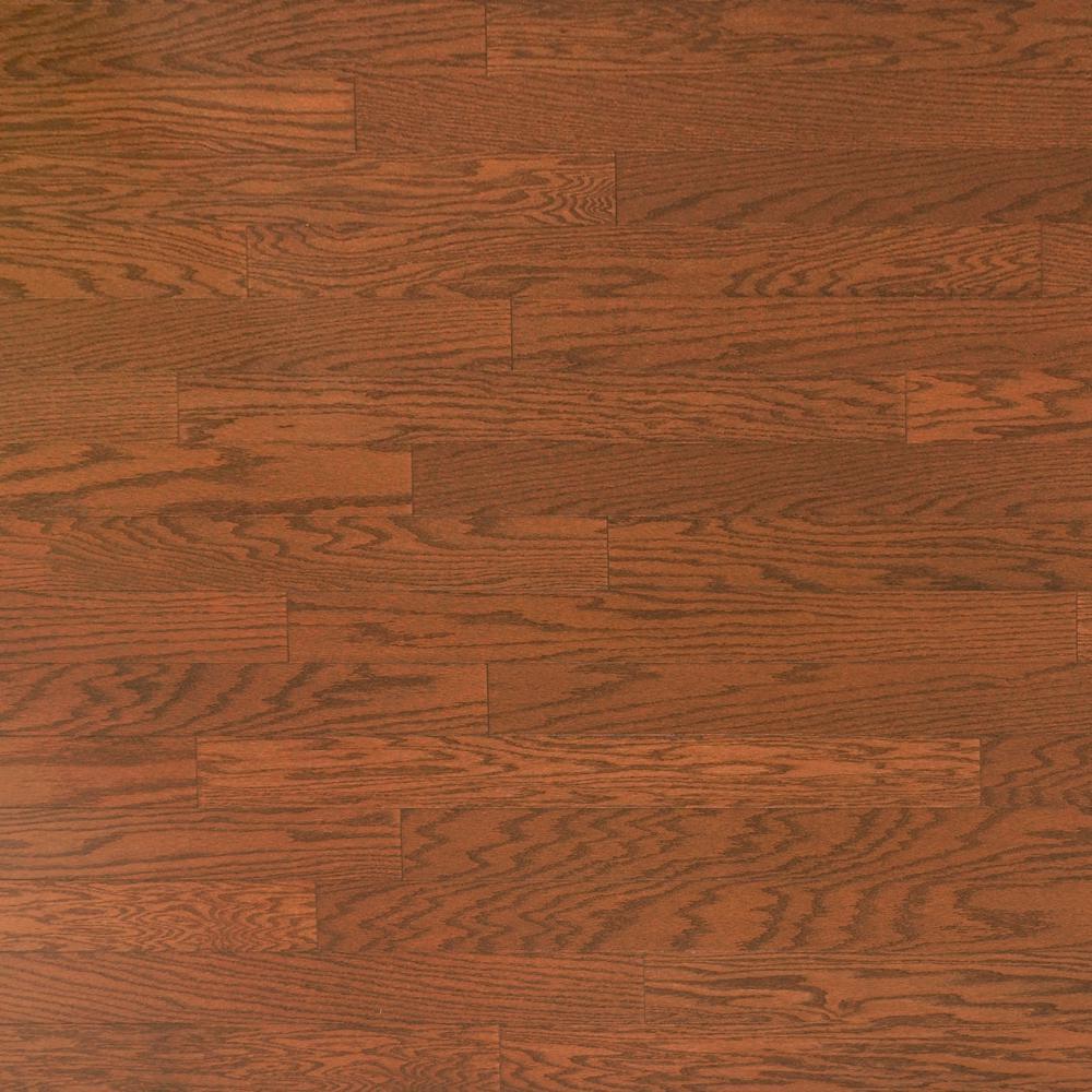 Take Home Sample - Oak Almond Engineered Click Hardwood Flooring - 5 in. x 7 in.
