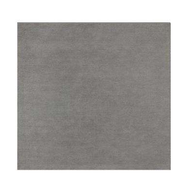 Royal Chenille Light Grey 8 ft. x 8 ft. Square Area Rug