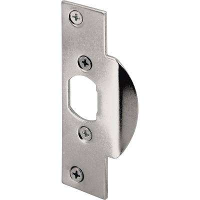 Chrome Plated High-Security Latch Strike Plate