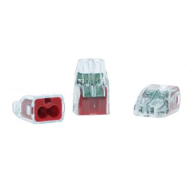 2-Port In-Sure Push-In Wire Connector, Red (300-Jar)