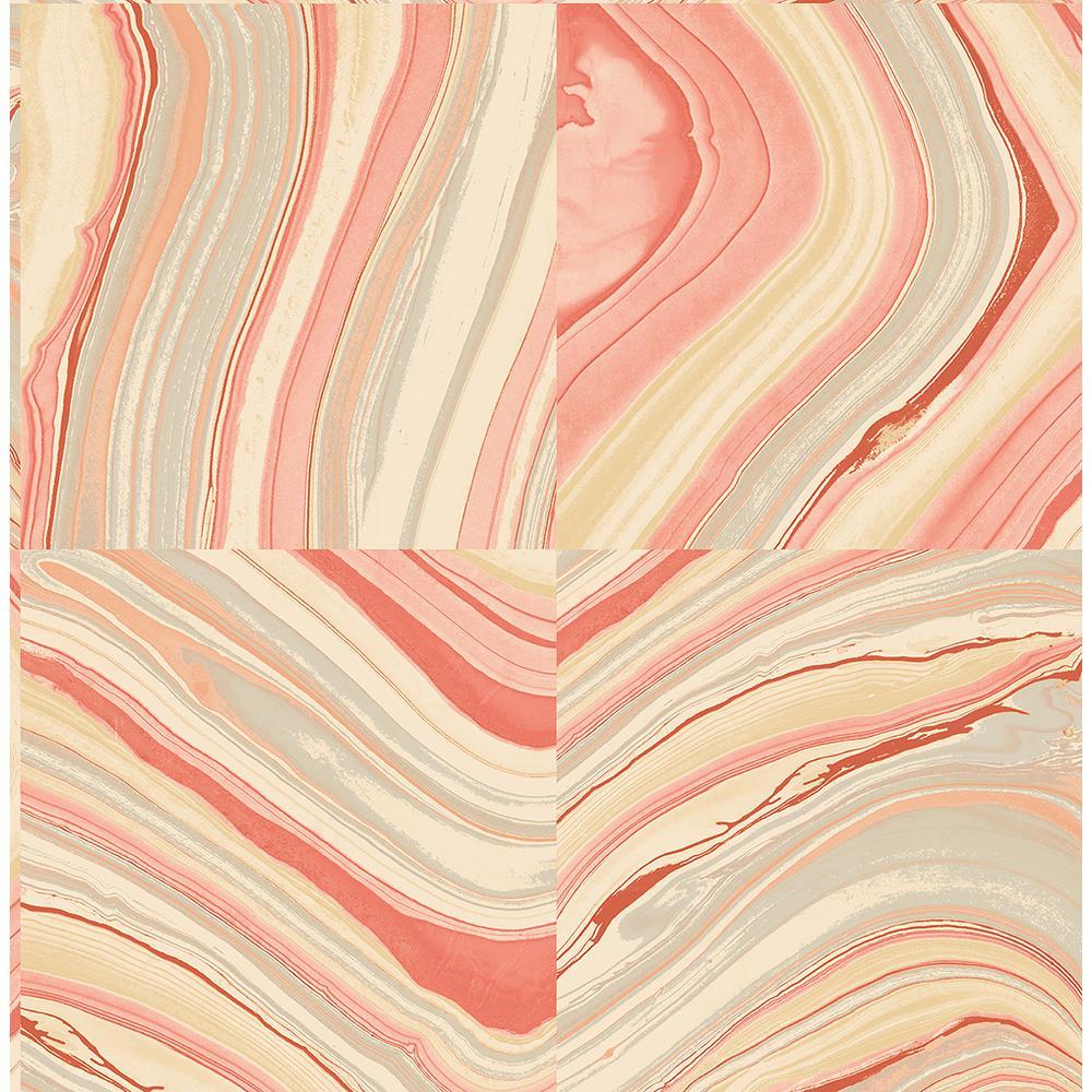 Agate Coral Stone Wallpaper
