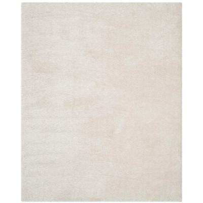 Venice Shag Pearl 7 ft. 6 in. x 9 ft. 6 in. Area Rug