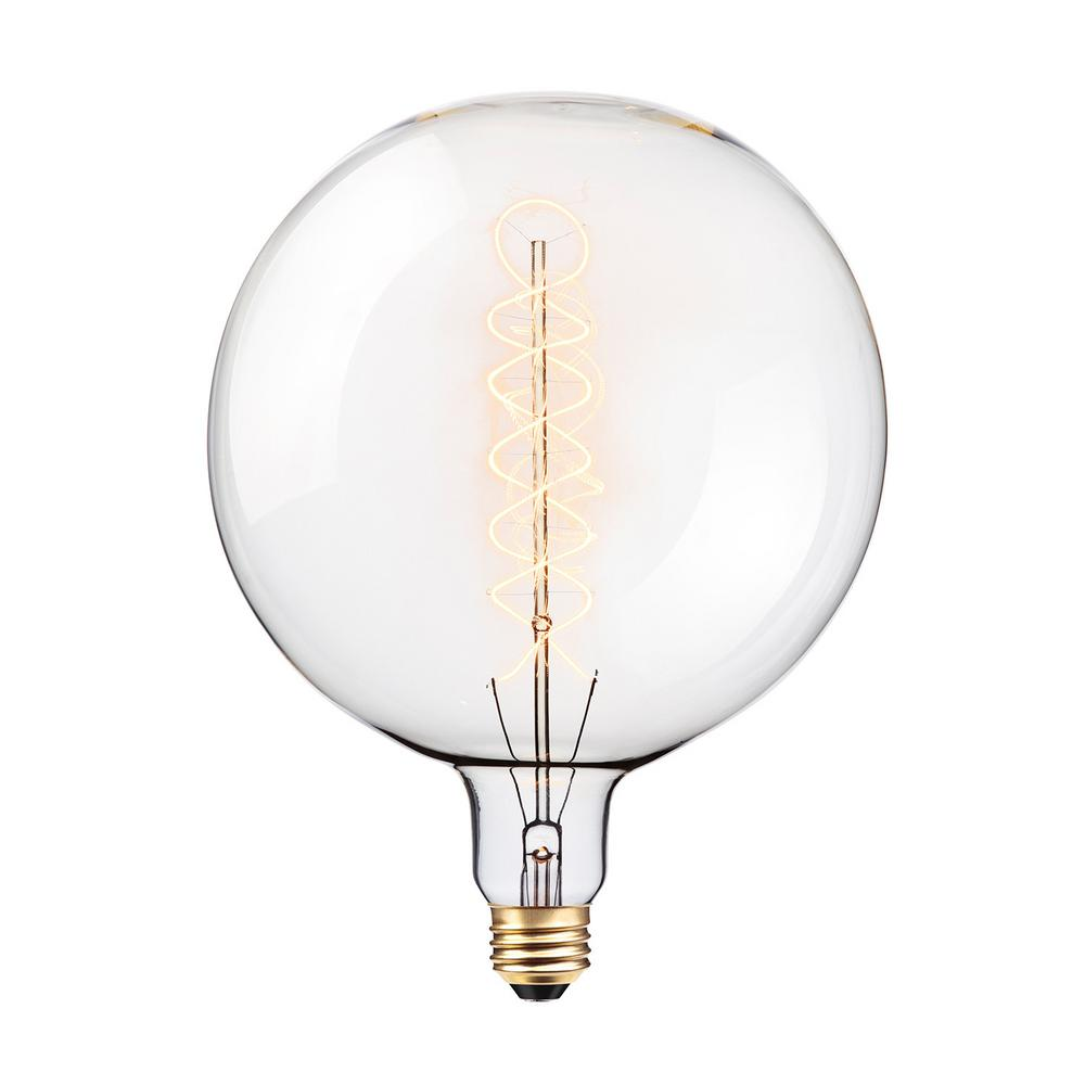 Globe Electric 100-Watt G200 Oversized Vintage Incandescent Light Bulb