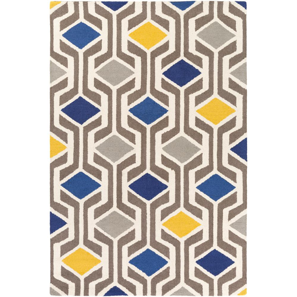 Hilda Gisele Yellow 8 ft. x 11 ft. Indoor Area Rug