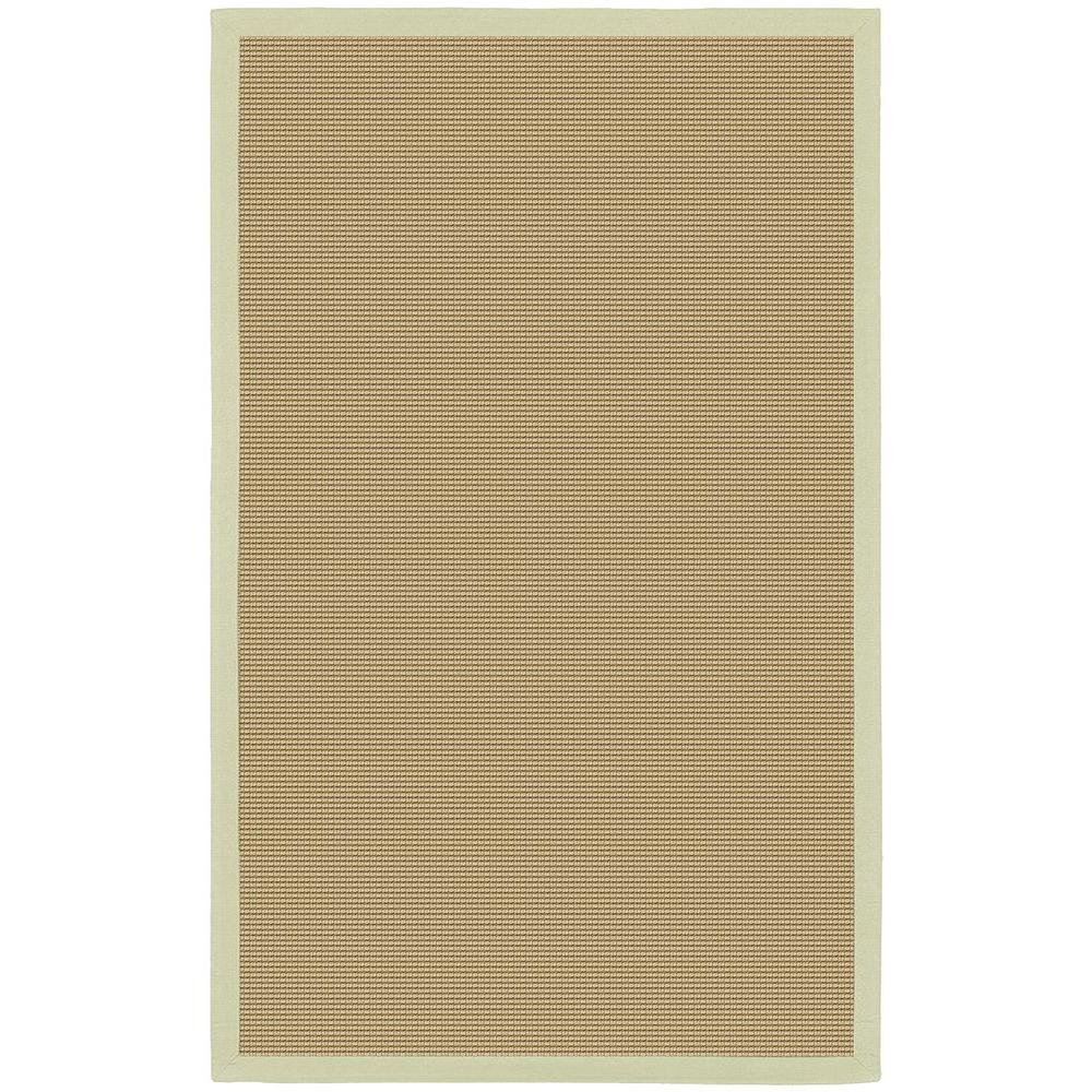 Bay Tan/Green 9 ft. x 13 ft. Indoor Area Rug