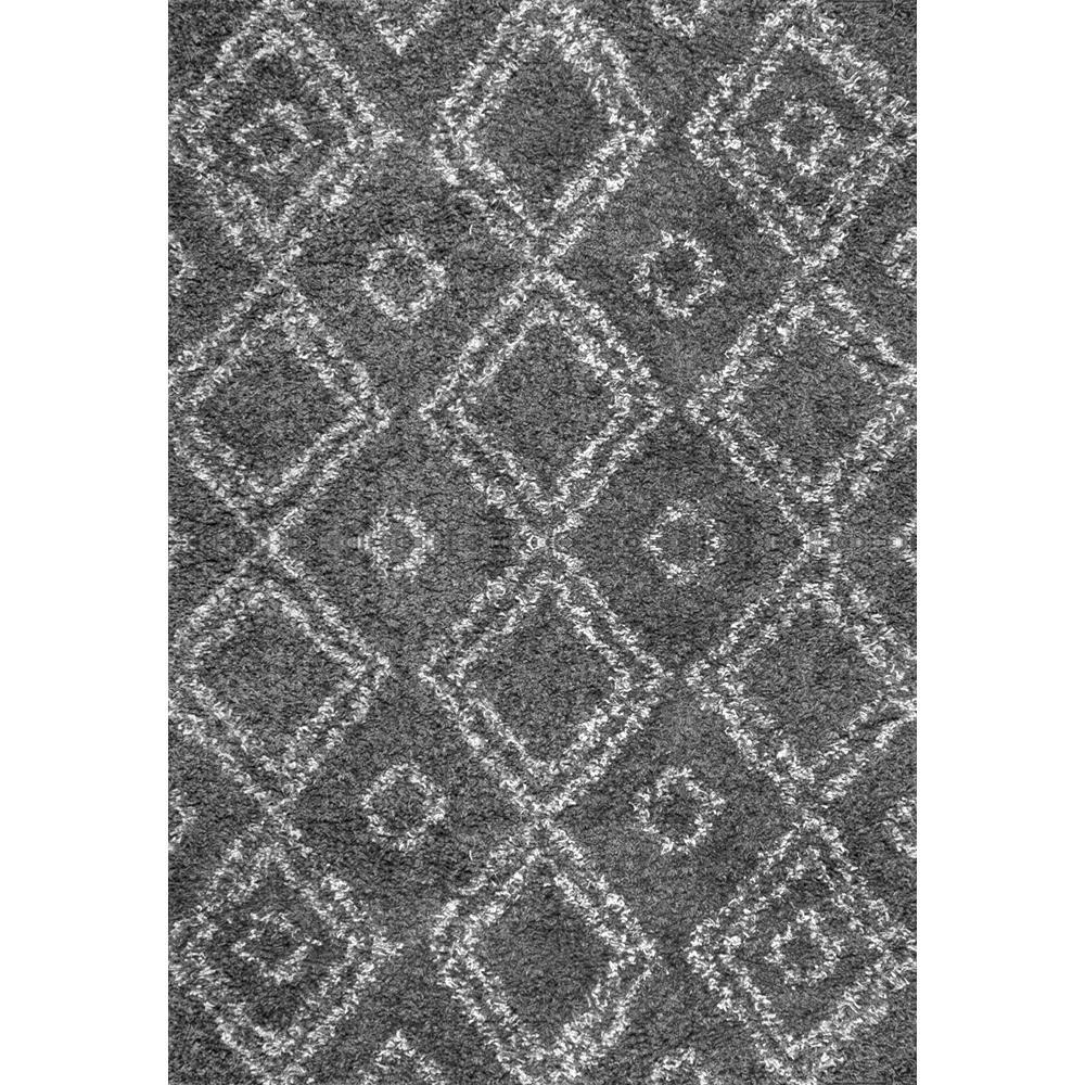 Nuloom iola easy shag gray 9 ft 2 in x 12 ft area rug for Easy rugs