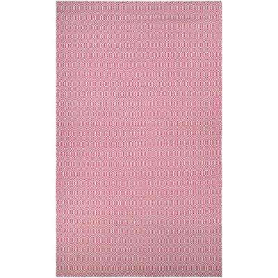 Cottages Southport Pink 5 Ft X 8 Indoor Outdoor Area Rug