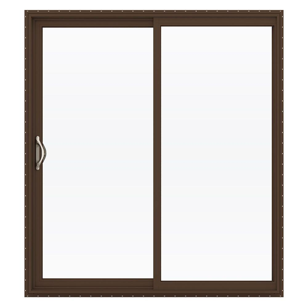 Jeld-Wen 72 in. x 80 in. V-2500 Series Vinyl Sliding Low-...