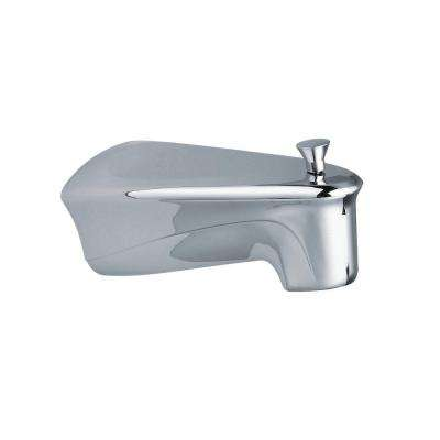 Chateau Diverter Tub Spout with Soap Tray in Chrome