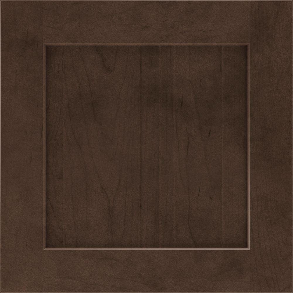 14.5x14.5 in. Cabinet Door Sample in Costello Trestle