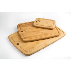 Core Bamboo 3-Piece Bamboo Cutting Board Set with Juice Well ...
