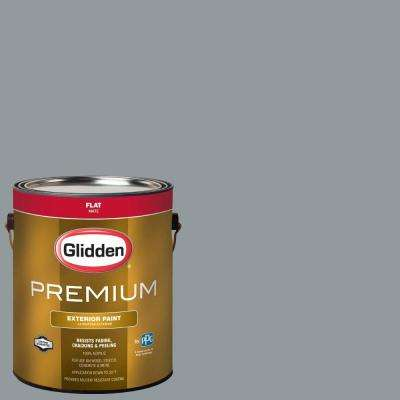 1-gal. #HDGCN25 Nocturnal Creek Flat Latex Exterior Paint