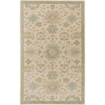Gilgamesh Beige 5 ft. x 8 ft. Indoor Area Rug