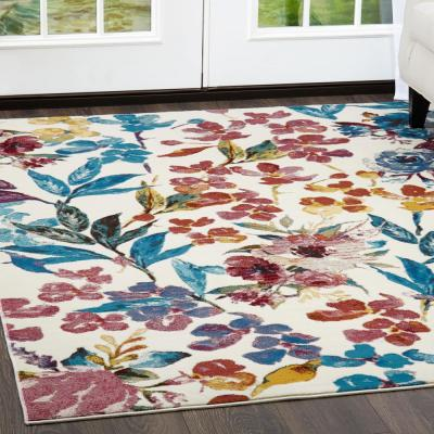 Parlin Ivory 8 ft. x 9 ft. Indoor Area Rug
