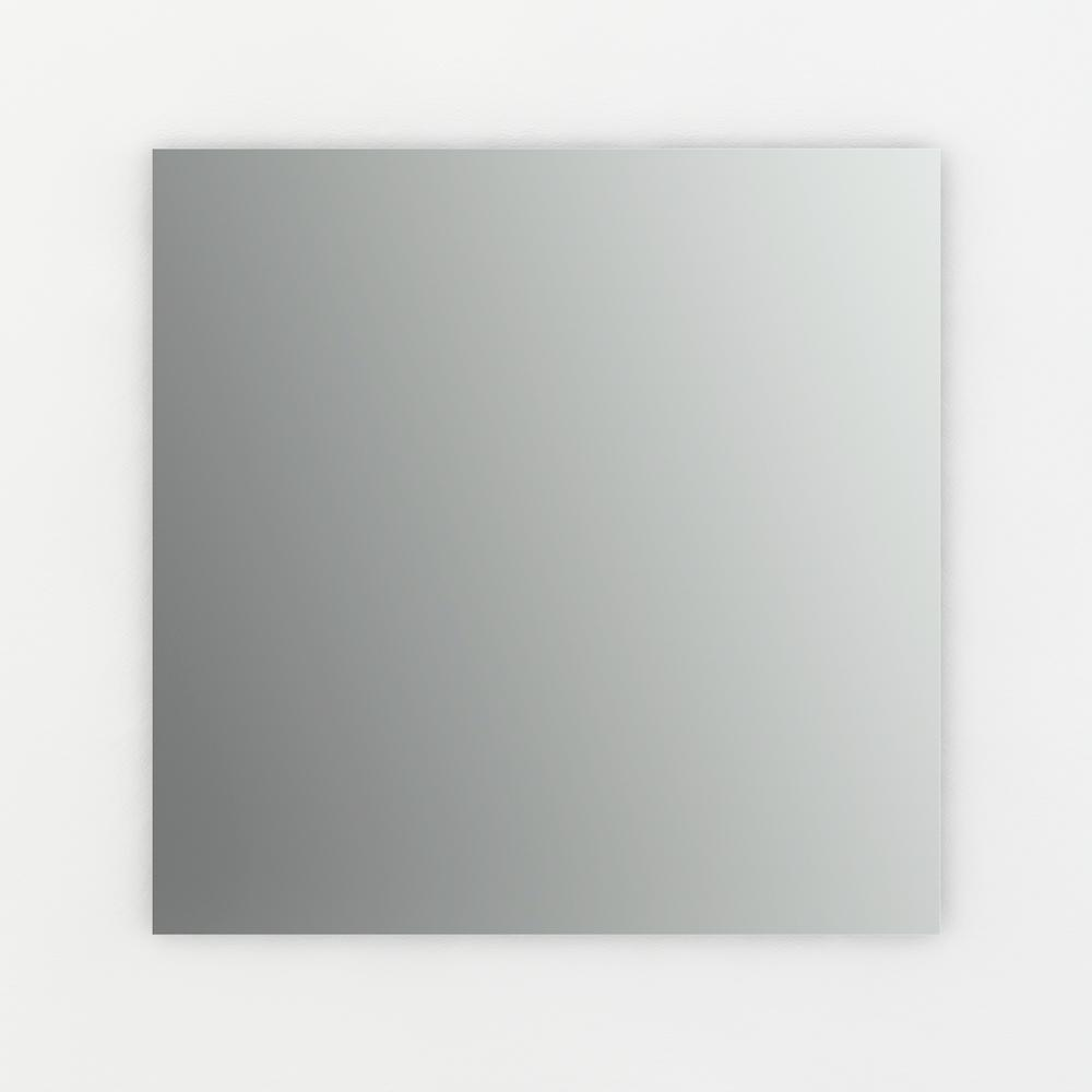 L2 Square Frameless Standard Glass Mirror