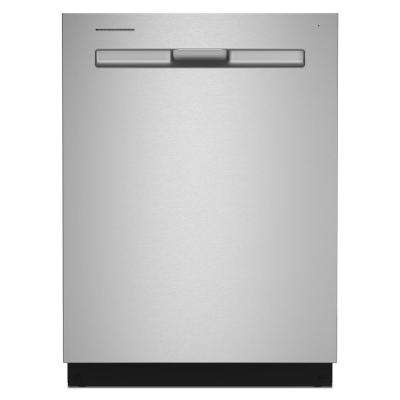 24 in. Top Control Built-in Tall Tub Dishwasher in Fingerprint Resistant Stainless Steel with Dual Power Filtration