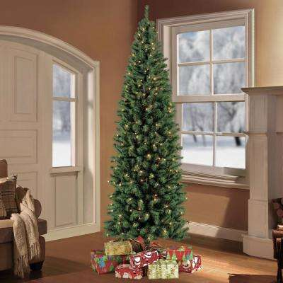 7.5 ft. Pre-Lit Northern Fir Artificial Christmas Tree with 350 Clear Lights