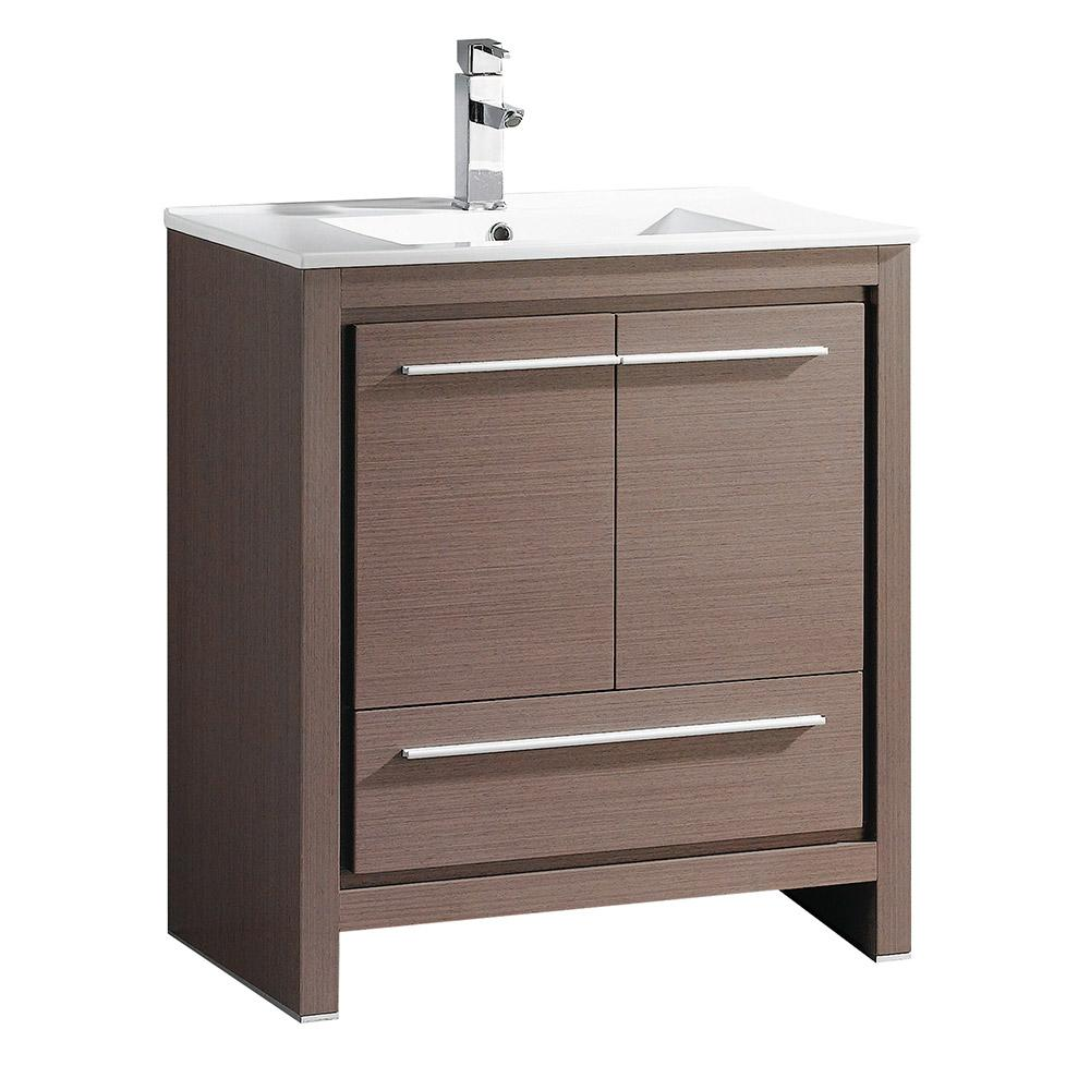 All In One Vanity Tops : Glacier bay all in one w bath vanity combo