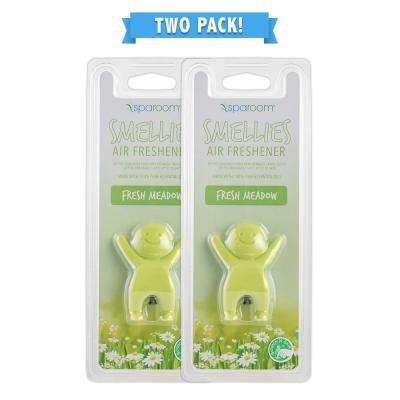 Smellies Fresh Meadow Car Air Freshener Vent Clip 2 Pack
