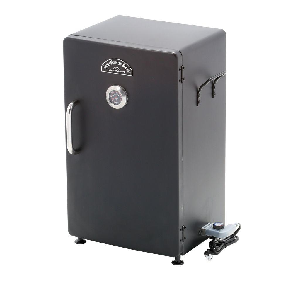 Smoky Mountain 26 In Electric Smoker 32948 The Home Depot