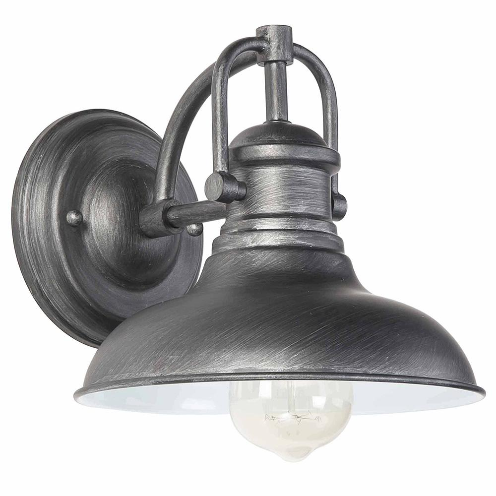 EGLO Kohls River 1-Light Oil Rubbed Bronze Outdoor Wall Lantern Sconce Style your outdoor space with distinction using the Kohls River Outdoor Wall Light by Eglo. The coastal design coupled with the oil rubbed bronze finish bring a nautical feel to any space while being subtle enough to complement any decor. Use this piece alone or pair it up to accent your entryway or outdoor area.