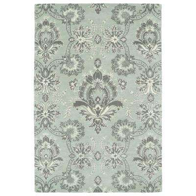 Melange Pewter 9 ft. x 12 ft. Area Rug
