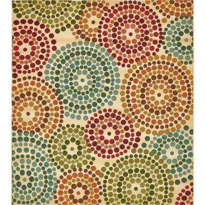 Outdoor Spark Beige 10' 0 x 12' 0 Area Rug