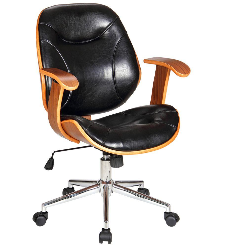 boraam rigdom black office chair