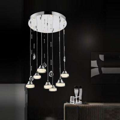 Mariann 27-Watt Chrome Integrated LED Chandelier