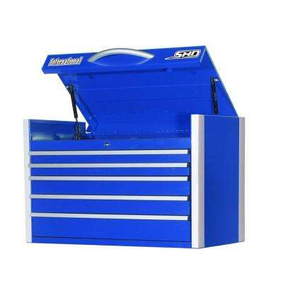 SHD Series 35 in. 5-Drawer Top Chest, Blue