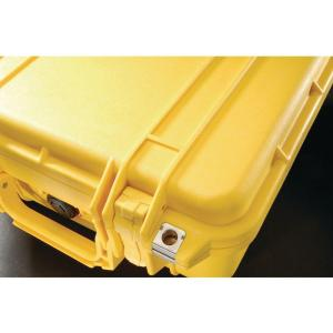 Pelican 12.3 inch Protector Case with Pick N Pluck Foam in Yellow by Pelican