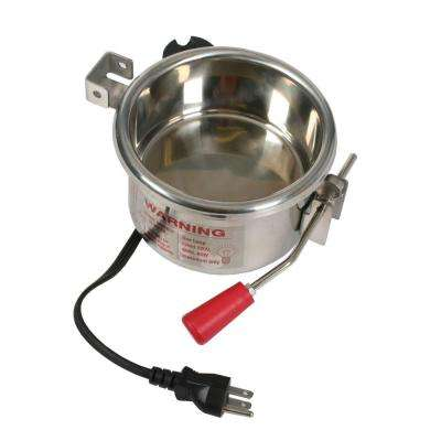 6 oz. Popcorn Kettle for Popcorn Machines Stainless Steel