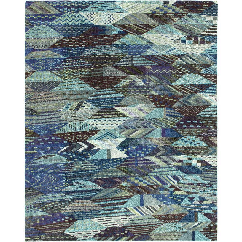 Sedona Rainier Blue 8' 0 x 10' 0 Area Rug