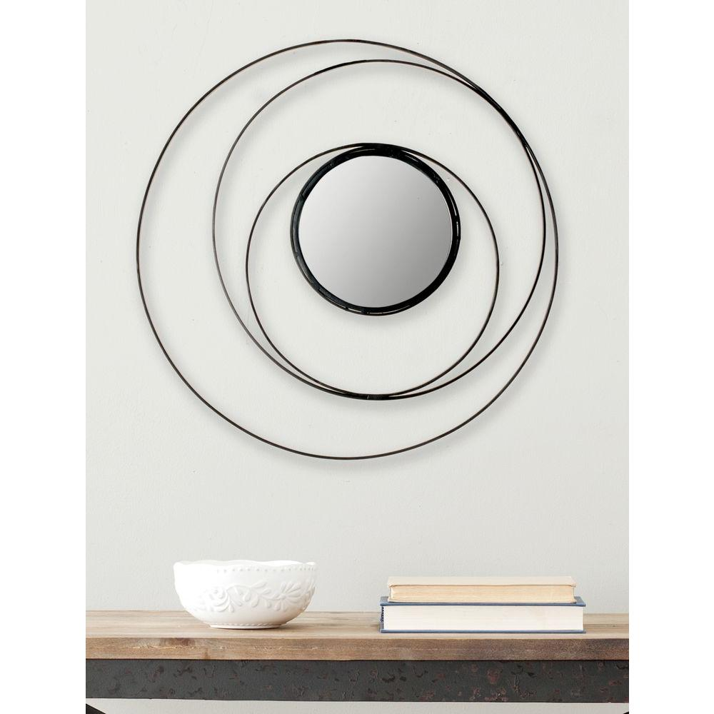 Safavieh Inner Circle 20 in. x 20 in. Iron Framed Mirror