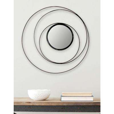 Inner Circle 20 in. x 20 in. Iron Framed Mirror