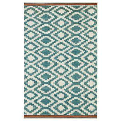 Nomad Turquoise 8 ft. x 10 ft. Area Rug