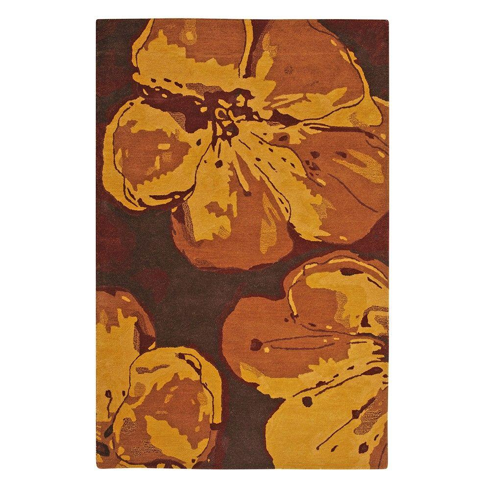 Home Decorators Collection Marvelle Brown 5 ft. 3 in. x 8 ft. Area Rug