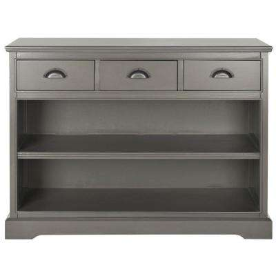 Prudence 2-Shelf Etagere in Grey