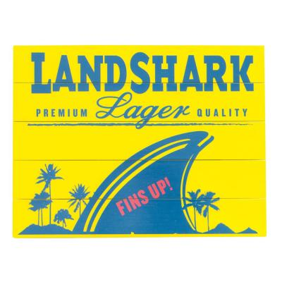 Landshark Lager Outdoor Wall Art Sign