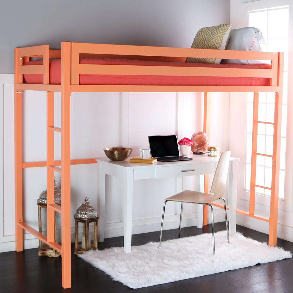 Twin Over Kids Bunk Bed Brown Rockdale pic 51