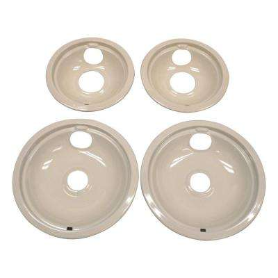 Drip Pan Kit in Biscuit