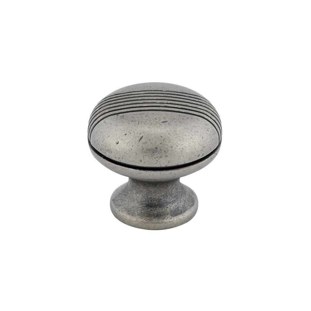 1-1/8 in. Simili Iron Cabinet Knob