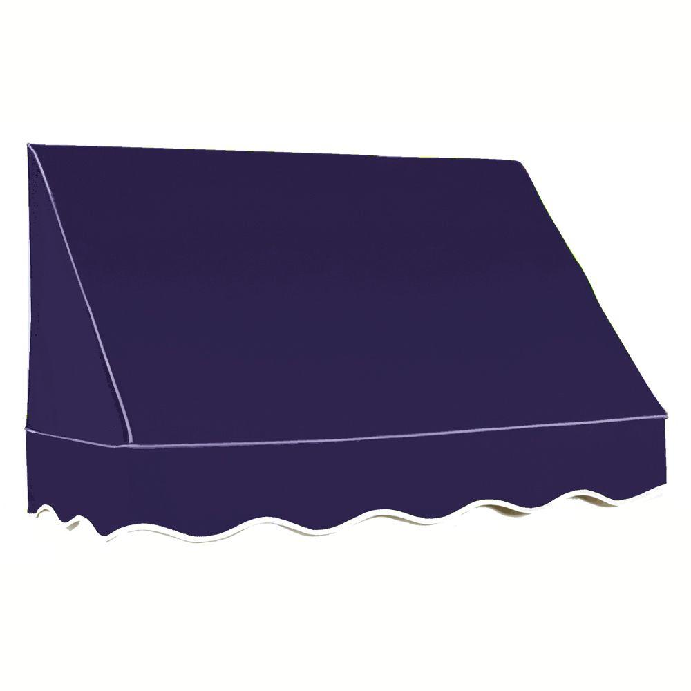 AWNTECH 8 ft. San Francisco Window Awning (44 in. H x 24 in. D) in Navy