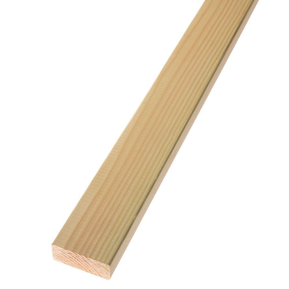 2 in. x 4 in. x 20 ft. Premium Standard and Better Douglas Fir Lumber