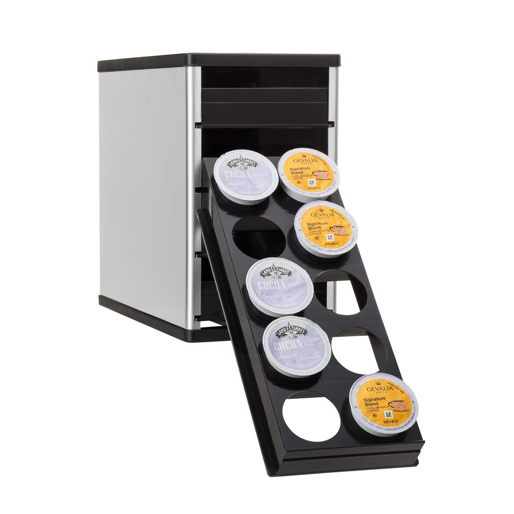 Youcopia Coffeestack 40 K Cup Organizer 40100 02 Slv The