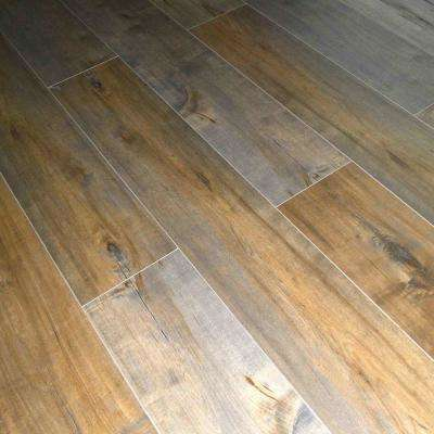 Mocha Birch 12 mm Thick x 7.72 in. Wide x 48 in. Length Click-Locking Laminate Flooring Planks (17.943 sq. ft. / case)