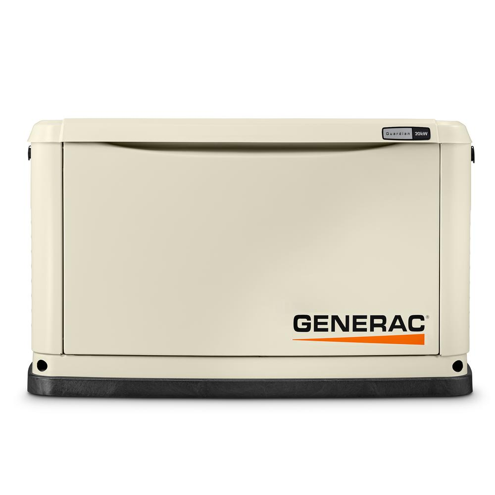 Generac 20000 Watt Lp 18000 Watt Ng Air Cooled Standby Generator