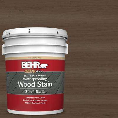 5 gal. #ST-141 Tugboat Semi-Transparent Waterproofing Exterior Wood Stain