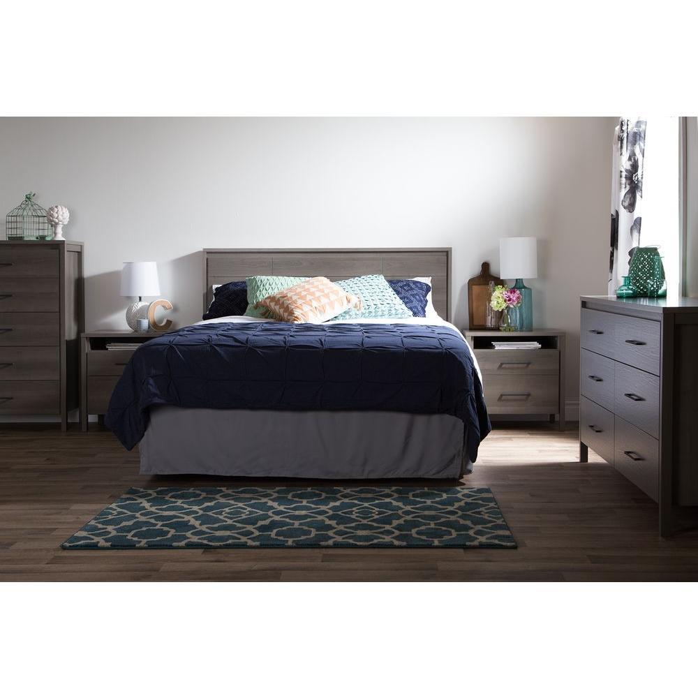 South Shore Gravity 6-Drawer Gray Maple Dresser 9036010